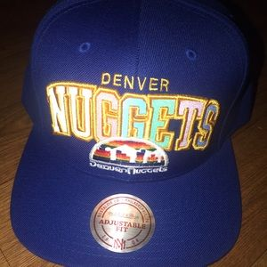 Mitchell & Ness Denver Nuggets SnapBack NWOT